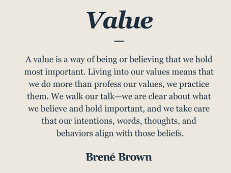 Defining and formalizing company values for an 80 people team