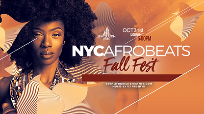 Pre-Flyer - Preflyer- AfrobeatsFallFest.