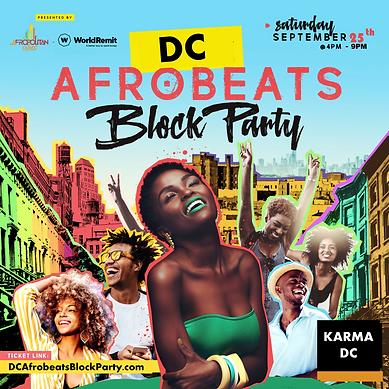 Main Flyer - DC Afrobeats Block Party.png