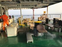 Sheltered deck