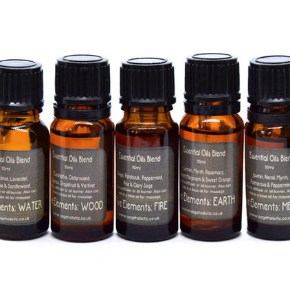 5 Element Practitioner Blends 10ml Collection