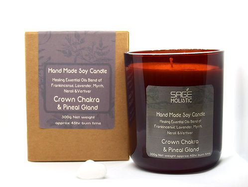 Crown Chakra & Pineal Gland 300g Candle
