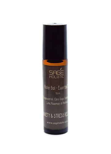 Anxiety & Stress Release, Rescue RollerBall Blend 10ml