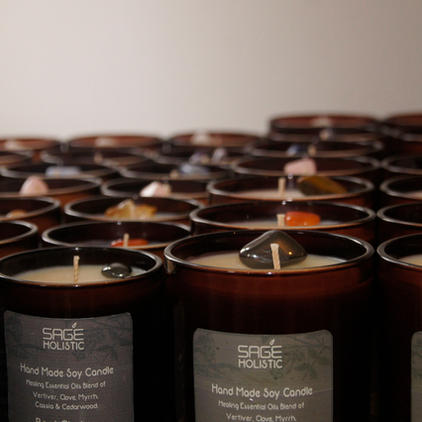 300g Hand-made Soy Wax Container Candles Collection