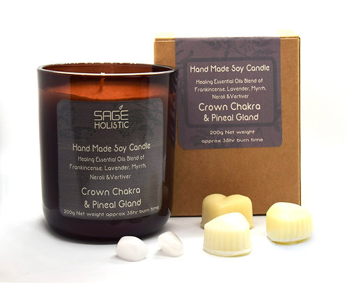 Crown Chakra & Pineal Gland 200g Candle