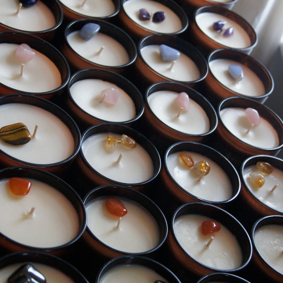 200g Hand-made Soy Wax Container Candle Collection