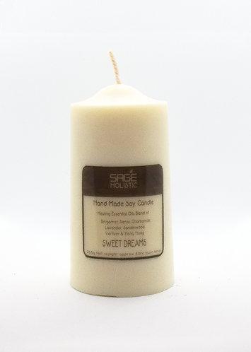 Sweet Dream 265g Pillar Soy Wax Candle