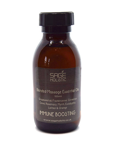 Immune Boosting Essential Oil Massage Blend 100ml