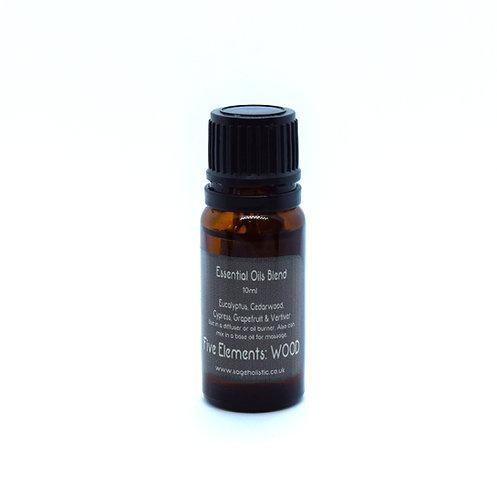 WOOD 5 Element Essential Oil Blend 10ml