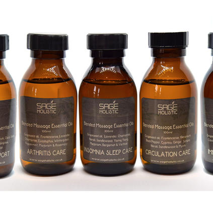 100g Massage Essential Oil Blends Collection