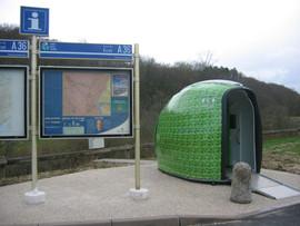 """WC autonomes """"Greencube"""""""