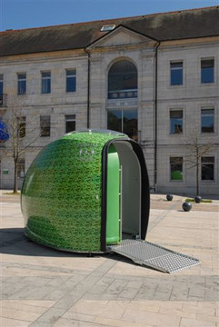 "WC autonomes ""Greencube"""