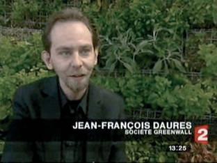 France 2 / Le mur végétal présenté à Pollutec