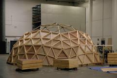 ECO dôme ossature bambous