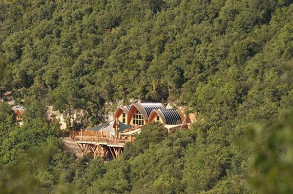 les 7 pavillons de la Grotte de la Salam