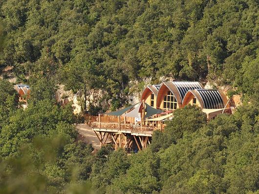 Les 7 pavillons de la Grotte de la Salamandre