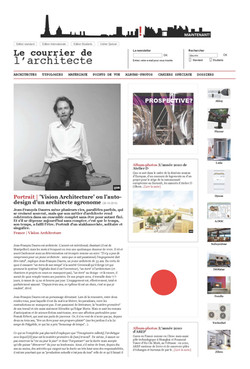 110213 - Le Courrier de l'Architecte -  l'auto-design d'un architecte agronome_P