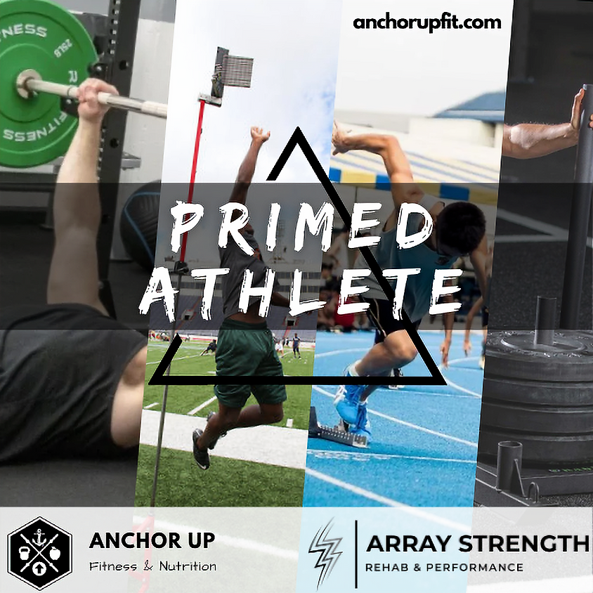 Primed Athlete: 6:30pm Apr- May