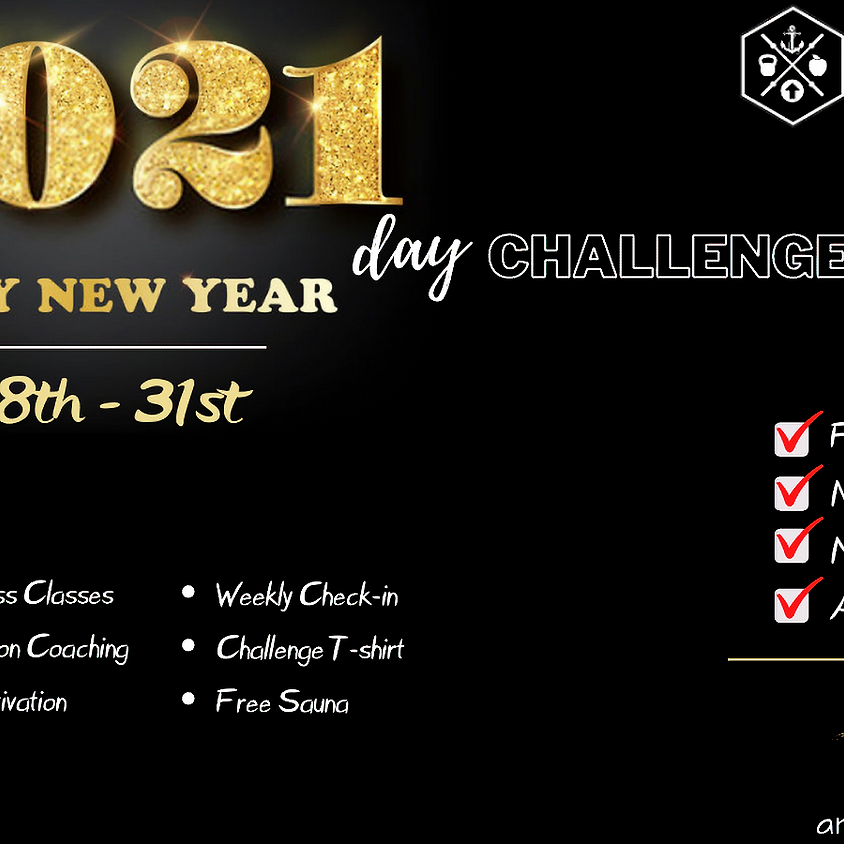 21 Day Challenge: New Year New You!