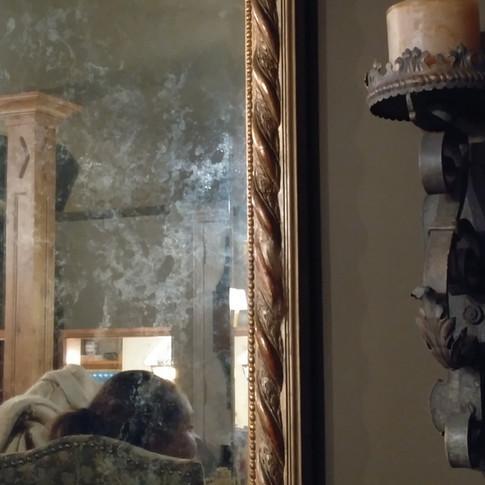 """""""antique"""" mirror"""