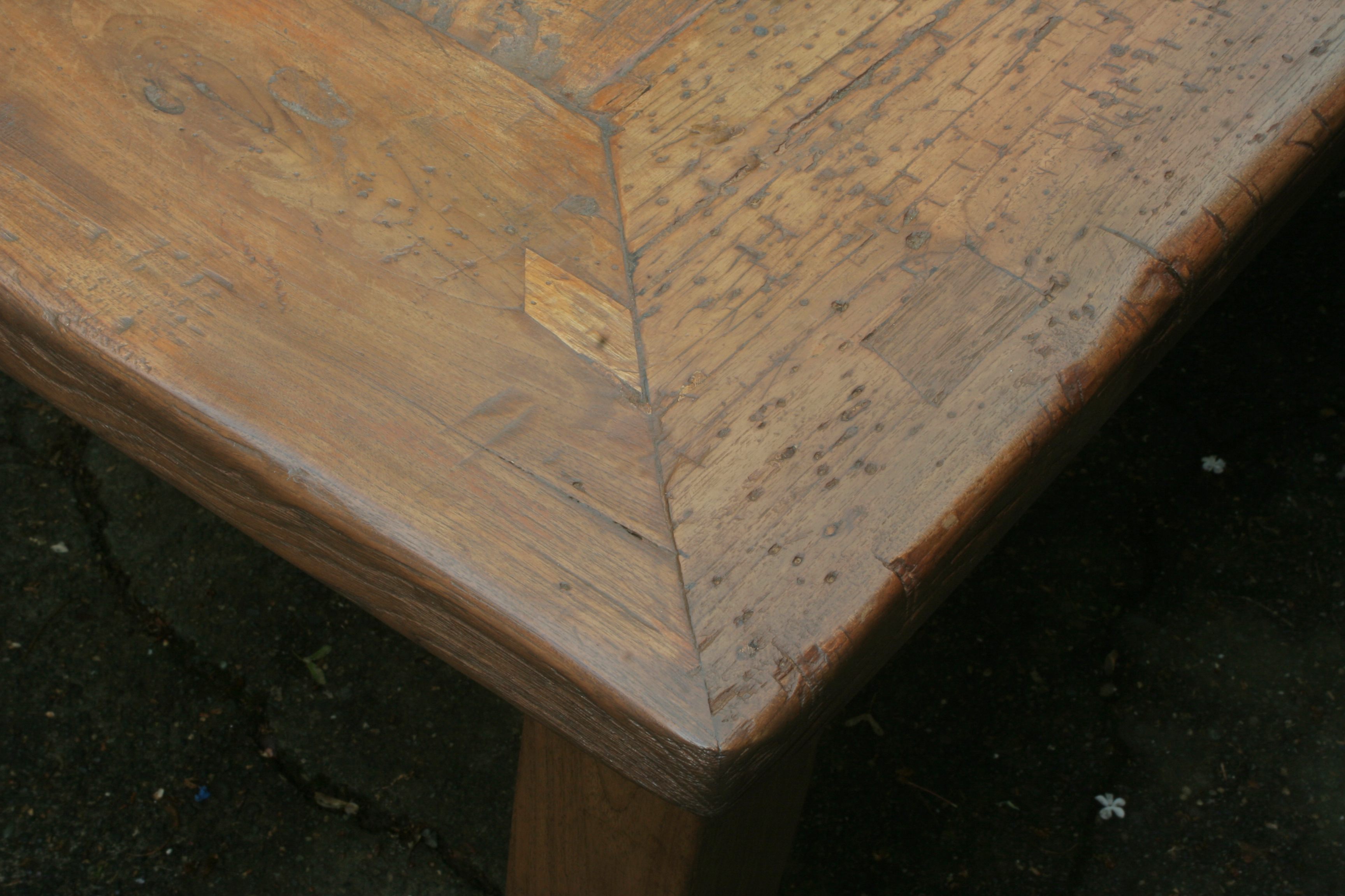 659 furniture repair Portland Oregon farmhouse table after 029