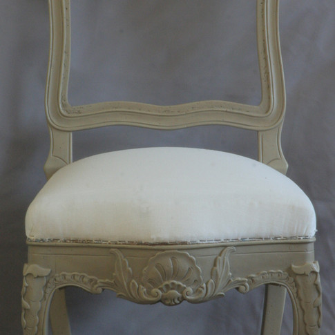 dining chairs, after