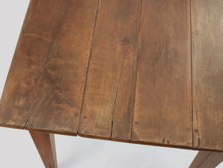 Why our farmhouse tables are  better than the antiques they aim to mimic