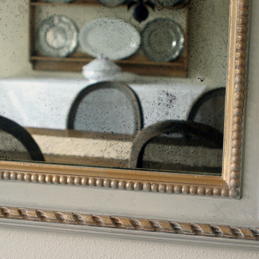 antique mirror faux antique frame