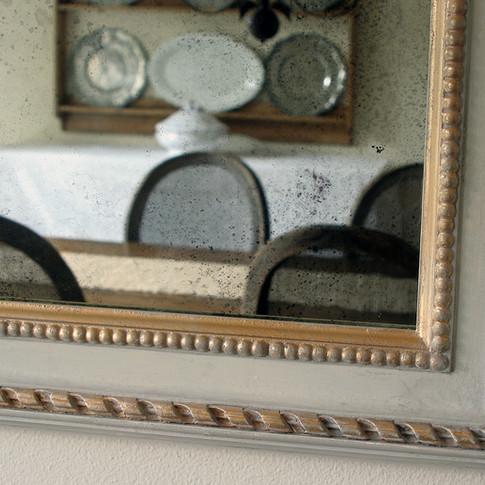antique mirror faux antique frame