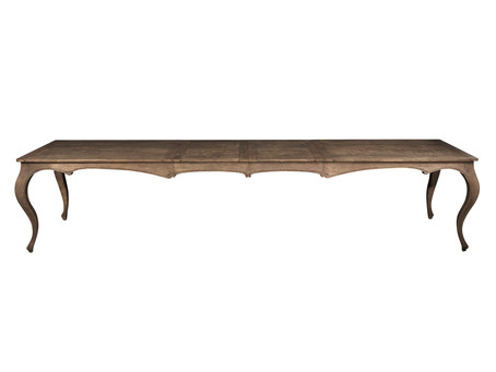 741 French country extension dining table with two leaves
