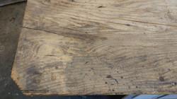 farmhouse console table repair 4