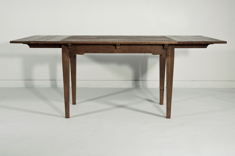 farmhouse table with leaves for banquette