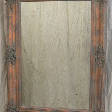 """aged"" copper and ""antique"" mirror"