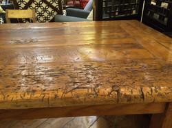 659 furniture repair Portland Oregon farmhouse table before 015