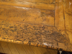 659 furniture repair Portland Oregon farmhouse table before 013