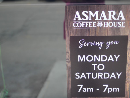 Old fave, new name: Welcome back Asmara!