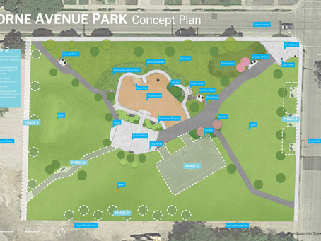 Lorne Ave. Park construction begins June 15!