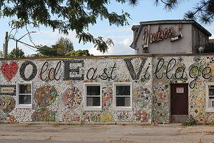 Marshall Street Wayfinding Mosaic, London Clay Art Centre, Susan Day, and Beth Turnbull-Mo