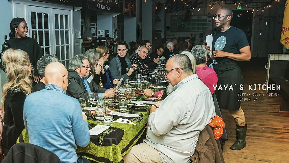 Supper clubbing with the best of'em. Photo via Facebook / @YayasKitchenLondonOntario