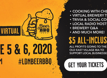 London's Beer & BBQ Show goes digital!