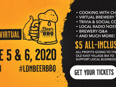 London's Beer & BBQ Show goes digital!