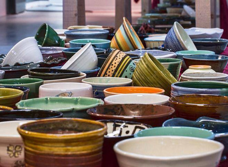 London clay artists fight hunger with Empty Bowls