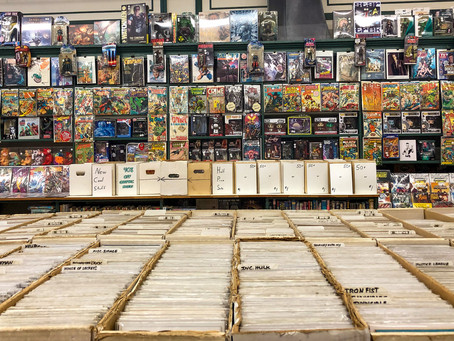 A Day of Exploring OEV Comic Shops