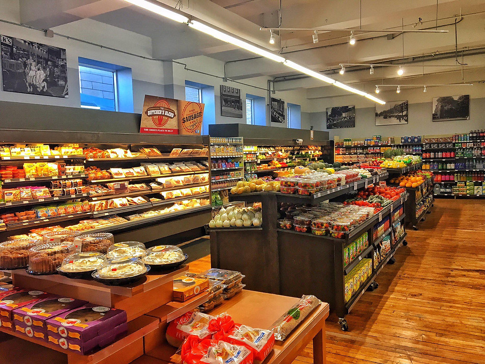 The OEV Grocer remains open with regular hours at this time. Photo via Facebook / @OEVgrocer