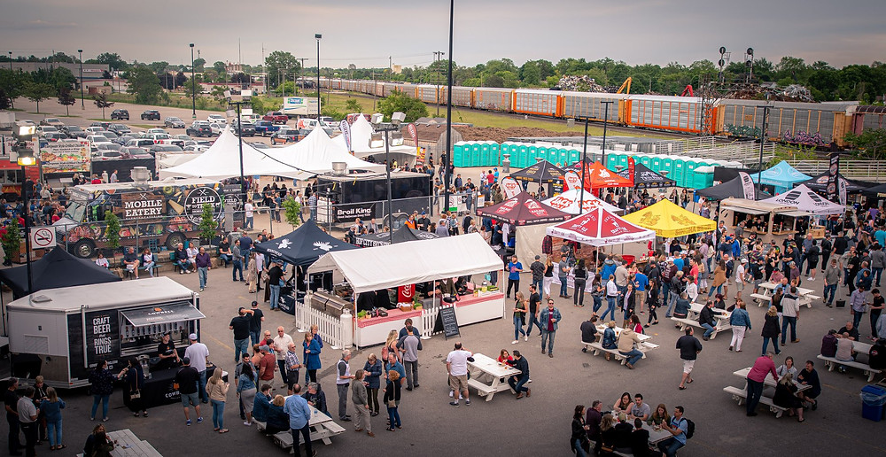 Have the fun of Beer & BBQ 2019, from home! Photo via Facebook / @WesternFairDistrict