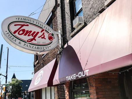 Tony's Famous Italian celebrates a special milestone this year!