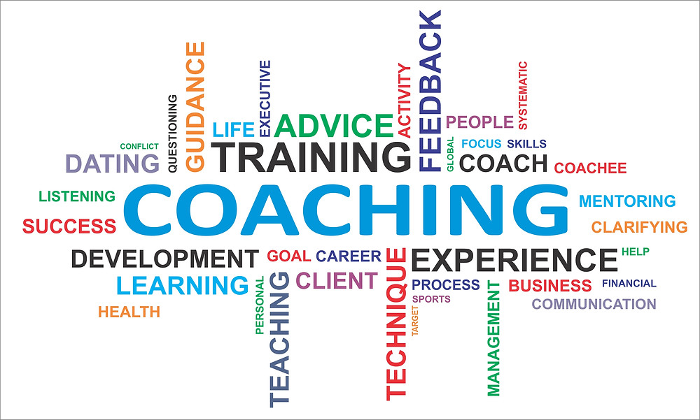 Steps to Success:- A board coaching and training canvas showing its elements and why coaching and training