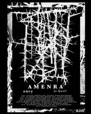 AMENRA - TOUR POSTER