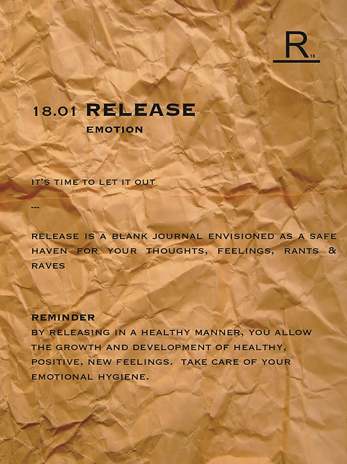 18.01 RELEASE | emotion