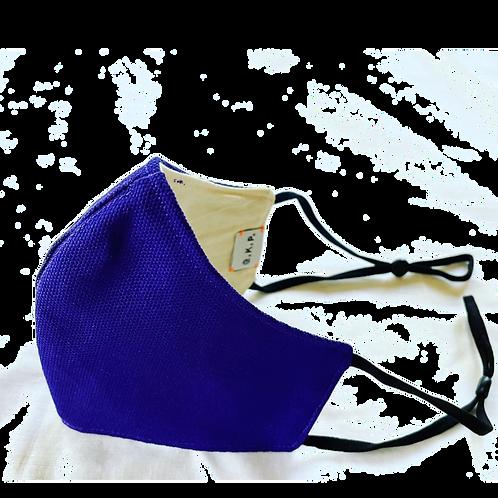 G.K.P. Face Covering: Purple Canvas